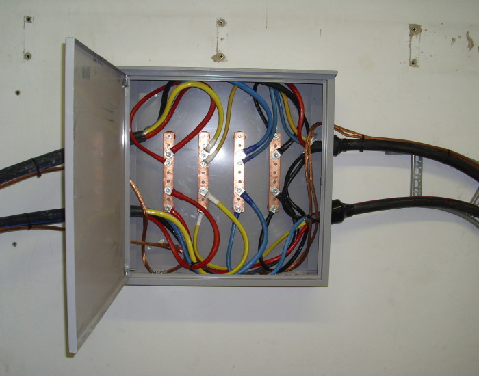 Generator installation 1