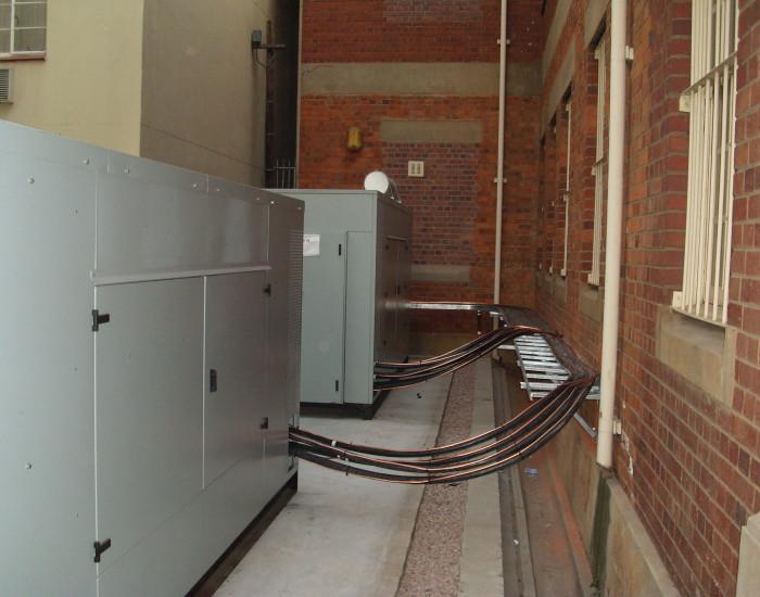 Generator installation 3